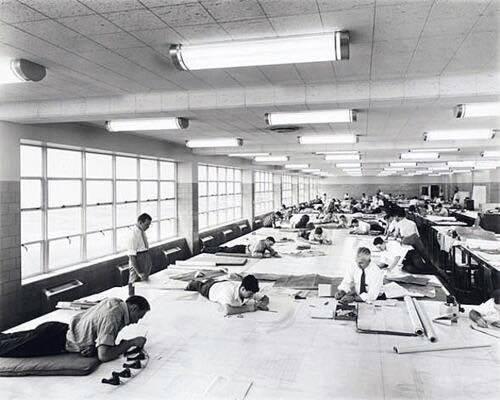 走思客設計圖誌_沒有Autocad繪圖軟體的那個年代建築事務所是如何製圖的? (2)
