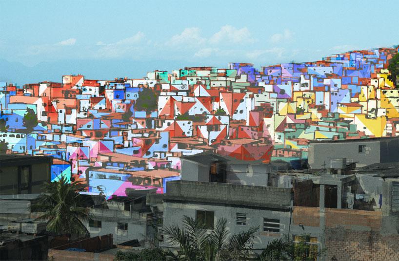 painting-an-entire-favela-in-rio-de-janeiro-designboom-01