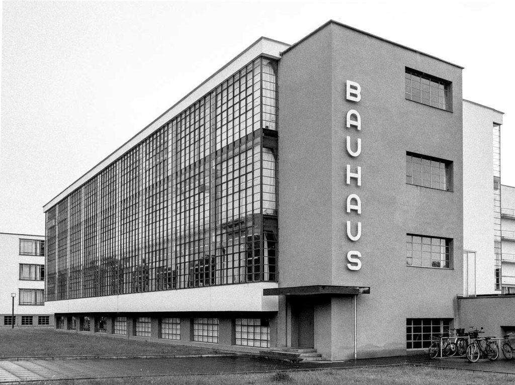 Bauhaus, Dessau-Roßlau, Sachsen-Anhalt | Saxony-Anhalt, Germany | Deutschland: Exterior | Aussenansicht, Architect Walter Gropius [2018]